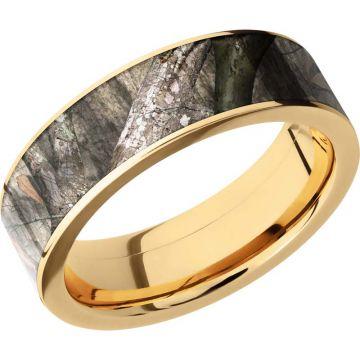 Lashbrook 14k Yellow Gold 7mm Men's Wedding Band