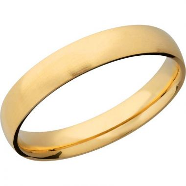 Lashbrook 14k Yellow Gold 4mm Men's Wedding Band