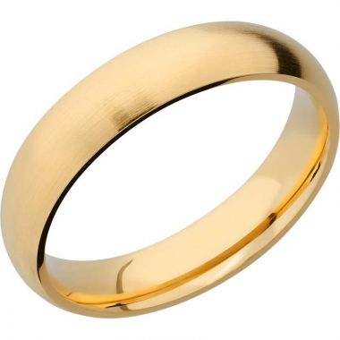 Lashbrook 14k Yellow Gold 5mm Men's Wedding Band