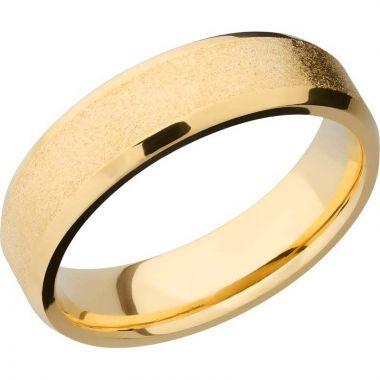 Lashbrook 14k Yellow Gold 6mm Men's Wedding Band