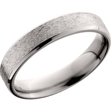 Lashbrook Titanium 5mm Men's Wedding Band