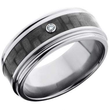 Lashbrook Titanium 9mm Men's Wedding Band