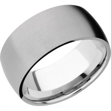Lashbrook Cobalt Chrome 10mm Men's Wedding Band