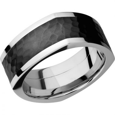 Lashbrook Cobalt Chrome 9mm Men's Wedding Band